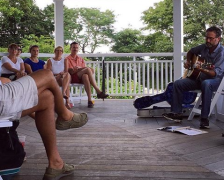 mvyradio's Porch Concert Series at the Harbor View Hotel: David Wolff
