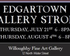 Edgartown Gallery Stroll